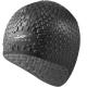 B31552 Шапочка для плавания силиконовая Bubble Cap (черная)