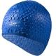 B31552 Шапочка для плавания силиконовая Bubble Cap (синяя)