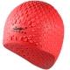 B31552 Шапочка для плавания силиконовая Bubble Cap (красная)