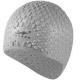 B31552 Шапочка для плавания силиконовая Bubble Cap (серая)