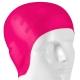 B31565 Шапочка для плавания силиконовая анатомическая (розовая)