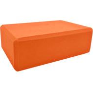 BE100-6 Йога блок полумягкий (оранжевый) 223х150х76мм., из вспененного ЭВА (A25573), 10018500, РОЛИКИ ДЛЯ ЙОГИ