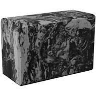 BE200-12 Йога блок полумягкий (серый гранит) 223х150х76мм., из вспененного ЭВА (A25579), 10018506, РОЛИКИ ДЛЯ ЙОГИ