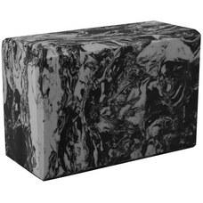 BE200-12 Йога блок полумягкий (серый гранит) 223х150х76мм., из вспененного ЭВА (A25579)