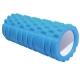E29389 Ролик для йоги (синий) 33х13,5см ЭВА/АБС