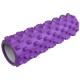 E29405 Ролик для йоги (фиолетовый) 45х13,5см ЭВА/АБС