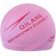B31567-4 Шапочка для плавания с принтом ПУ (розовая)