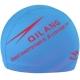B31567-10 Шапочка для плавания с принтом ПУ (голубая)