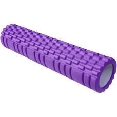 E29390 Ролик для йоги (фиолетовый) 61х13,5см ЭВА/АБС