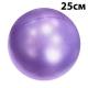 PLB25-6 Мяч для пилатеса (ПВХ) 25 см (фиолетовый) (E29315)