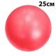 PLB25-3 Мяч для пилатеса (ПВХ) 25 см (красный) (E29315)