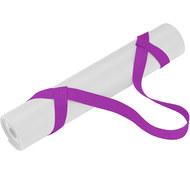 B31604 Ремень-стяжка Универсальная для йога ковриков и валиков (сиреневый), 10018578, ЭСПАНДЕРЫ