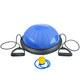 BOSU011-2 Полусфера BOSU гимнастическая, 46см., (синяя) в комплекте с эспандером и насосом (B31645)