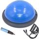 BOSU022-7 Полусфера BOSU гимнастическая, 46см., (синяя) в комплекте с эспандером и насосом (B31649)
