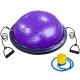 BOSU033-12 Полусфера BOSU гимнастическая, 58см., (фиоле) в комплекте с эспандером и насосом (B31654)