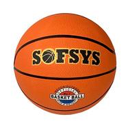 B32221 Мяч баскетбольный №3, (оранжевый), 10018713, БАСКЕТБОЛ