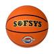 B32221 Мяч баскетбольный №3, (оранжевый)