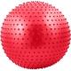 FBM-55-2 Мяч гимнастический Anti-Burst массажный 55 см (красный)