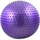 FBM-55-4 Мяч гимнастический Anti-Burst массажный 55 см (фиолетовый)
