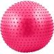 FBM-75-6 Мяч гимнастический Anti-Burst массажный 75 см (розовый)