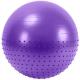 FBX-65-2 Мяч гимнастический Anti-Burst полу-массажный 65 см (фиолетовый)