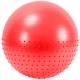FBX-55-1 Мяч гимнастический Anti-Burst полу-массажный 55 см (красный)