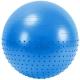FBX-55-3 Мяч гимнастический Anti-Burst полу-массажный 55 см (синий)