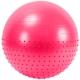 FBX-55-4 Мяч гимнастический Anti-Burst полу-массажный 55 см (розовый)