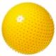 FBM-55-1 Мяч гимнастический Anti-Burst массажный 55 см (желтый)