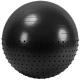 FBX-55-8 Мяч гимнастический Anti-Burst полу-массажный 55 см (черный)