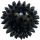 T07638 Мяч массажный твердый (черный) Диа 7см.