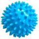 T07638 Мяч массажный твердый (голубой) Диа 7см.