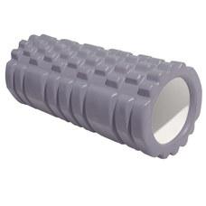 E29389 Ролик для йоги (серый) 33х13,5см ЭВА/АБС