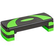 HKST106-GREEN Степ доска 3-х уровневая (зеленая), 10019038, Степперы