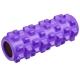B33091 Ролик для йоги полнотелый (фиолетовый) 33х12см., ЭВА/ПВХ/АБС