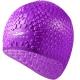 B31552 Шапочка для плавания силиконовая Bubble Cap (фиолетовая)