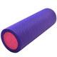 PEF45-4 Ролик для йоги полнотелый 2-х цветный (фиолетовый/розовый) 45х15см. (B34492)
