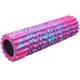 B34515 Ролик для йоги полнотелый 45х15см (розовый мультиколор) (YGR-6)