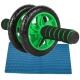 ABR-133-L Ролик гимнастический 2-х рядный (зеленый) (d-14 см) (D34383)