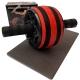 ABR-145W-2 Ролик гимнастический Широкий (красный) (D34425)