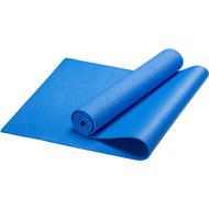 HKEM112-08-BLUE Коврик для йоги, PVC, 173x61x0,8 см (синий), 10019483, PVC/ПВХ