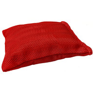 Мешочек для метания MV-300 с резиновой крошкой (красный) 300 грамм, 10019516, Груши, мешки, макивары, наборы