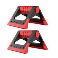 D34416 Упоры для отжимания складные Утюжок (красный) (56-304), 10019551, УПОРЫ