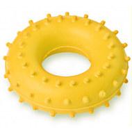 Эспандер кистевой Массажный, кольцо ЭРКМ - 10 кг (желтый), 10019574, Эспандеры Кистевые
