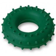 Эспандер кистевой Массажный, кольцо ЭРКМ - 20 кг (зеленый), 10019576, Эспандеры Кистевые