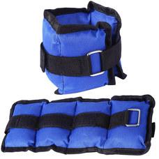 AW100-1 Утяжелители 1 кг (2х0,5кг) (нейлон) (синий) (D34458)