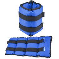 AW100-3 Утяжелители 3 кг (2х1,5кг) (нейлон) (синий) (D34460), 10019626, УТЯЖЕЛИТЕЛИ