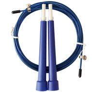 D34485-1 Скакалка скоростная 3,0 м. трос металл в ПВХ (синяя), 10019789, СКАКАЛКИ