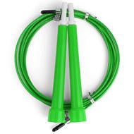 D34485-2 Скакалка скоростная 3,0 м. трос металл в ПВХ (зеленая), 10019790, СКАКАЛКИ