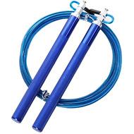 E32640 Скакалка скоростная алюминий 3,0 метра (синяя), 10019795, 00.Новые поступления